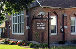 Maxwell Memorial Library, NY